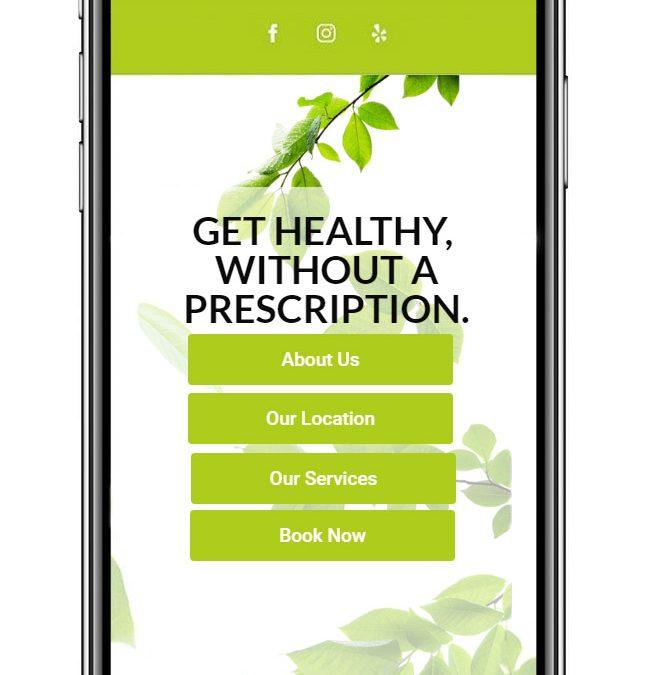 Health Practice Website
